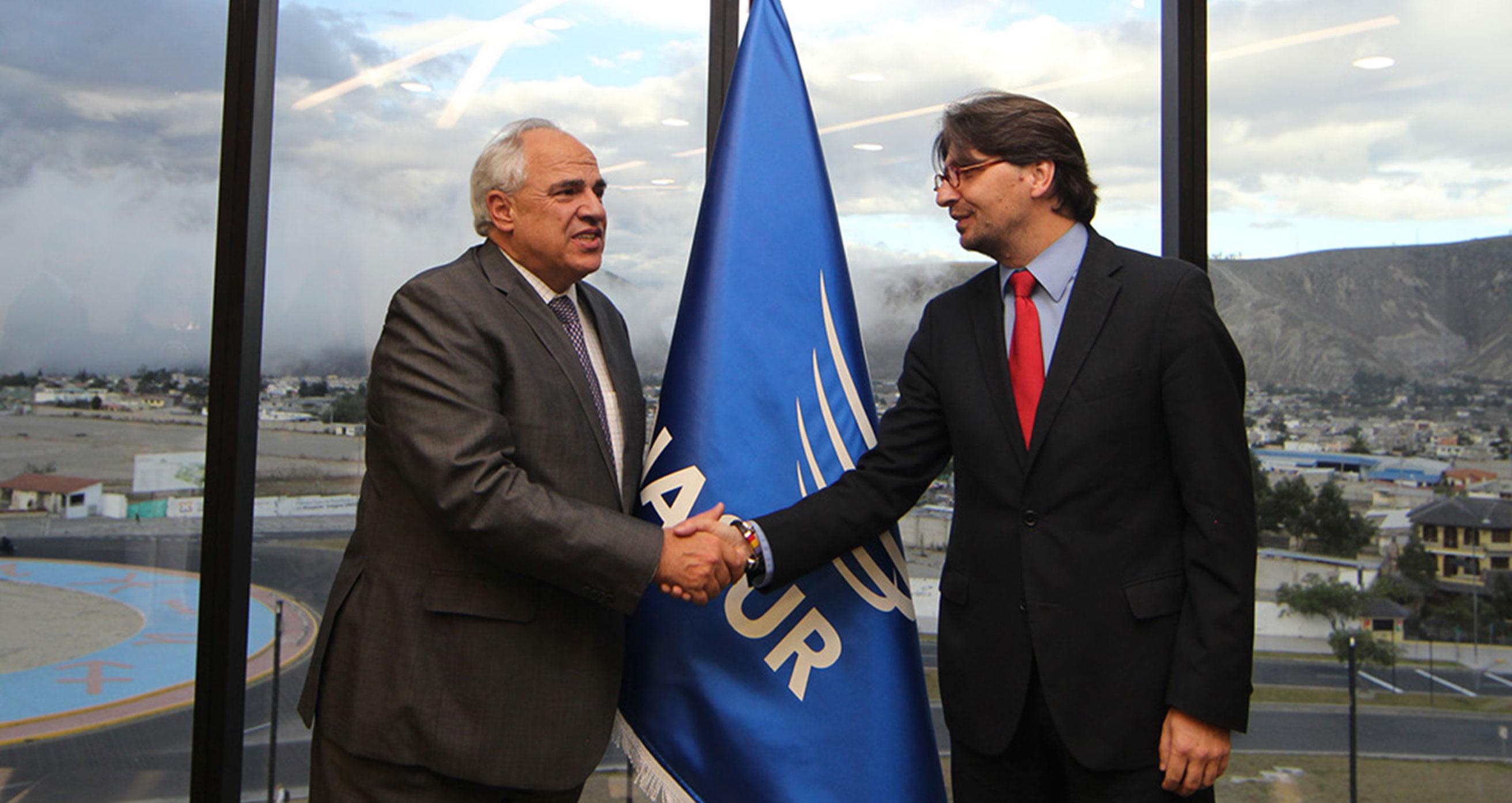 UNASUR y CIESPAL inician agenda de cooperación a nivel regional