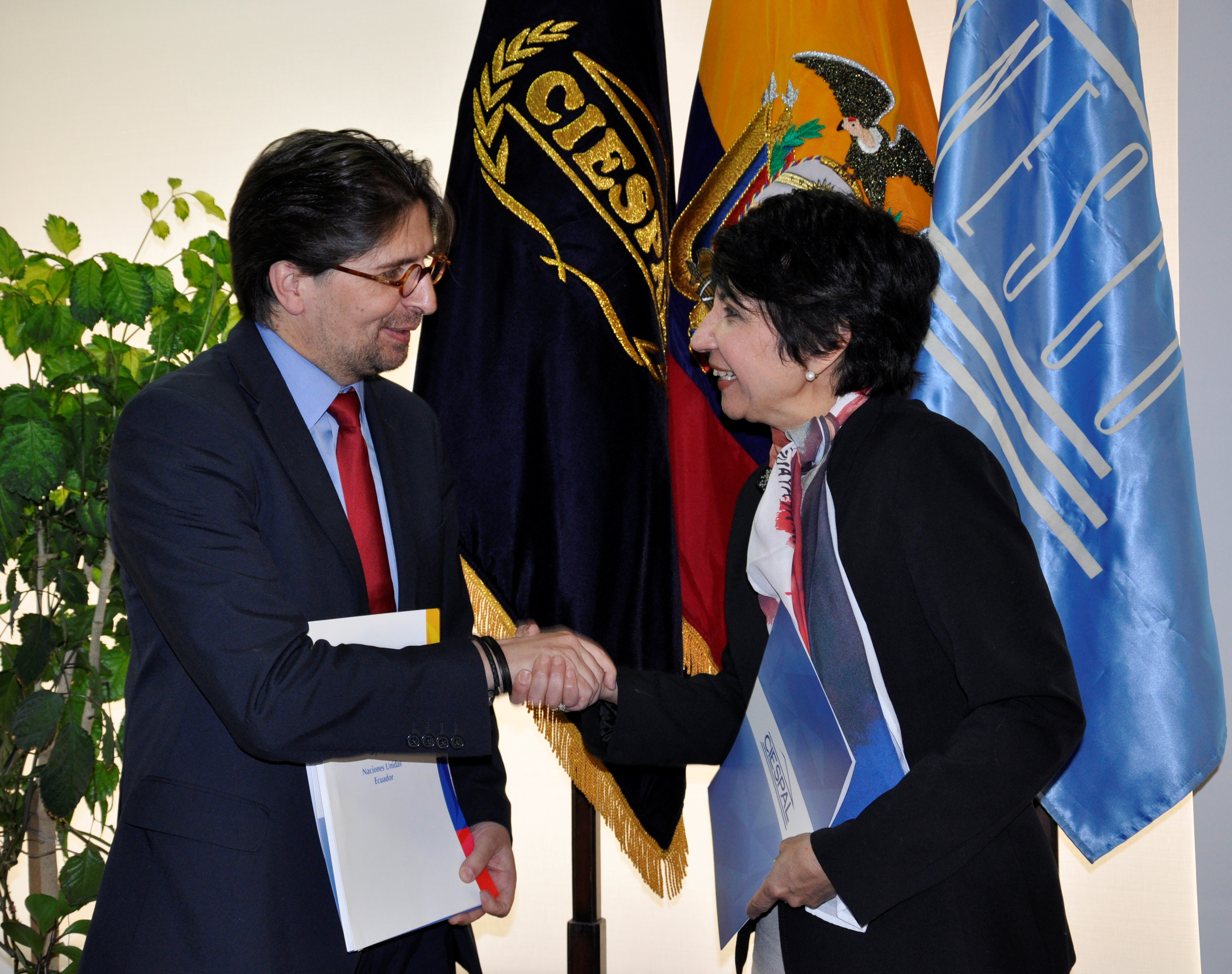 UNESCO Quito y CIESPAL inician trabajo de cooperación