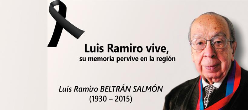 CIESPAL se viste de luto por el fallecimiento de Luis Ramiro Beltrán