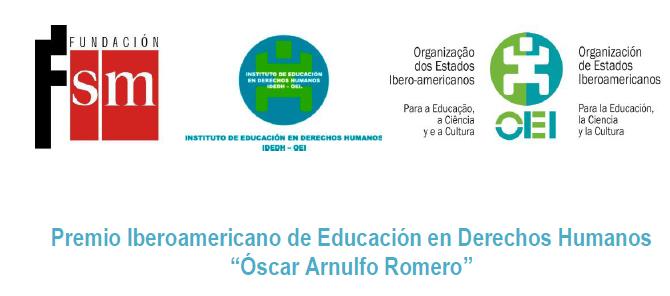 """Premio Iberoamericano de Educación en Derechos Humanos """"Óscar Arnulfo Romero"""""""