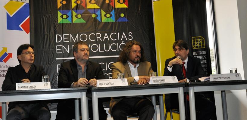 """Programa Regional Latinoamericano de Docencia e Investigación """"Democracias en Revolución y Revoluciones en Democracia"""""""