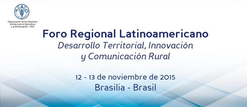 El Director General de CIESPAL participa, en Brasil, en el Foro Regional Latinoamericano organizado por FAO