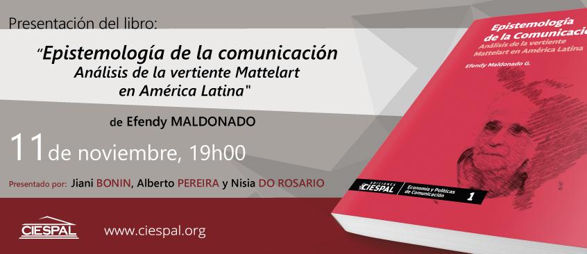 Presentación del libro Epistemología de la comunicación