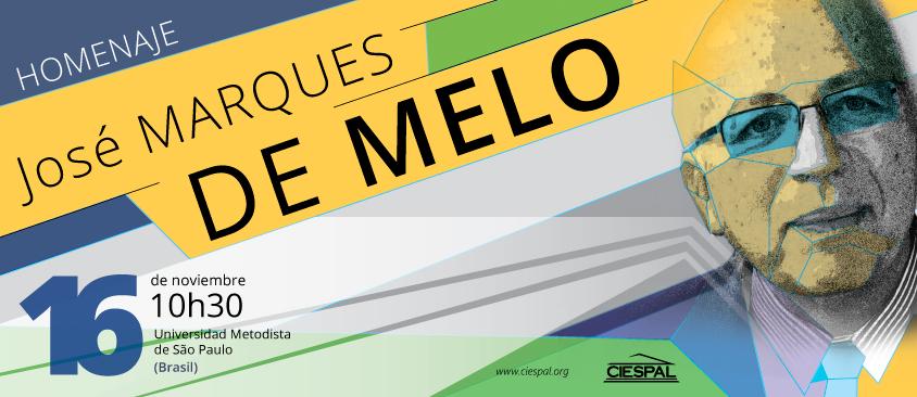 CIESPAL entregará la Medalla de Oro al académico José MARQUES DE MELO
