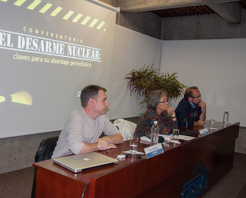 CIESPAL y Pressenza reflexionaron sobre Medios de Comunicación y Desarme Nuclear