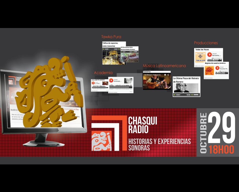 CHASQUI Radio: historias y experiencias sonoras