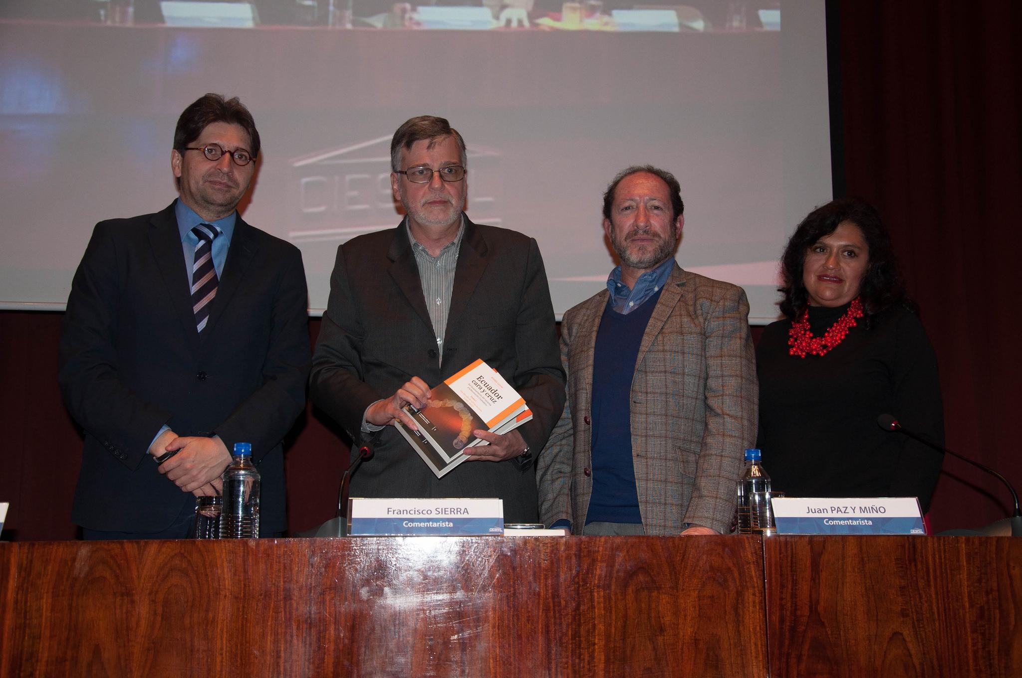 Ediciones CIESPAL presentó el libro de Kintto LUCAS que revive la historia reciente de Ecuador