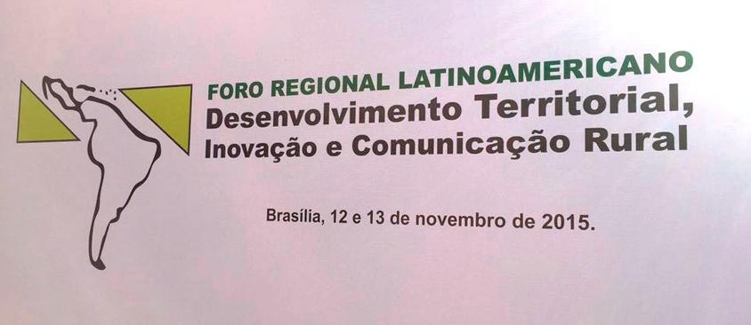 Conclusiones del Foro Regional Latinoamericano Desarrollo Territorial, Innovación y Comunicación Rural