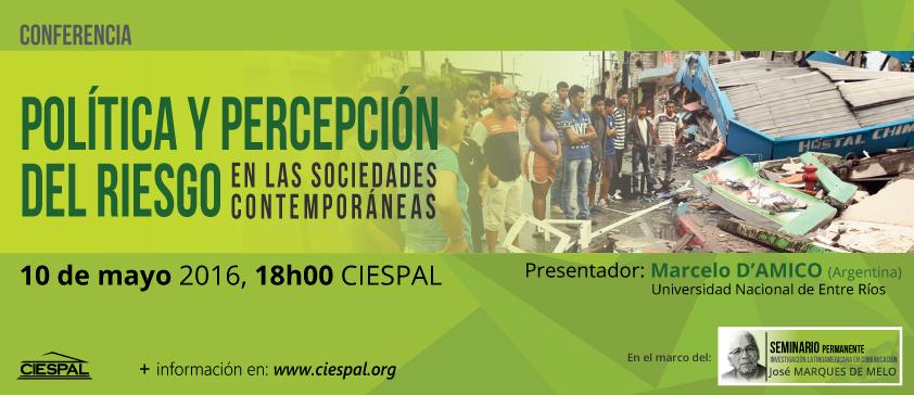 CIESPAL aborda los estudios de riesgo en las sociedades contemporáneas