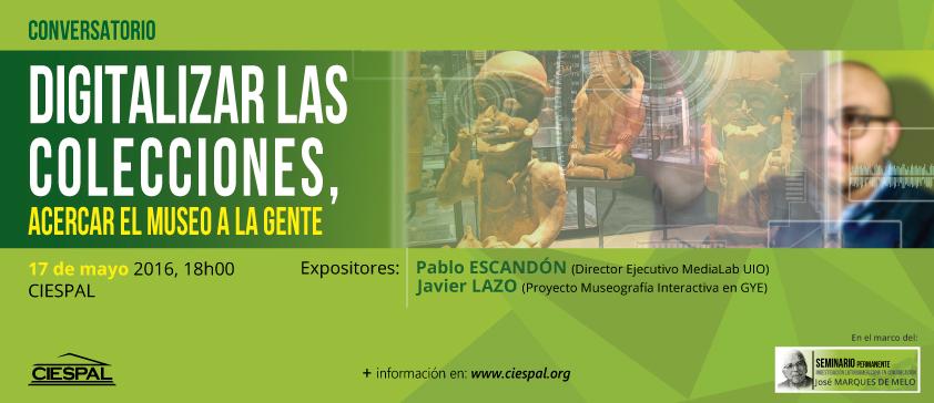 Museos, patrimonio y tecnología en CIESPAL