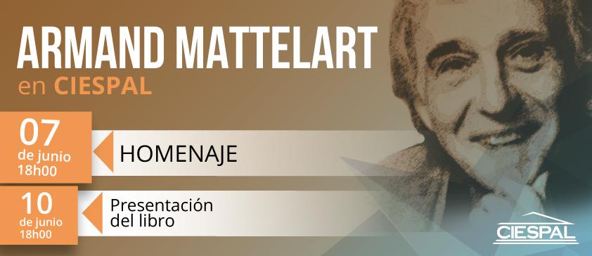 Armand MATTELART recibirá la Medalla de Oro, máxima distinción académica de CIESPAL