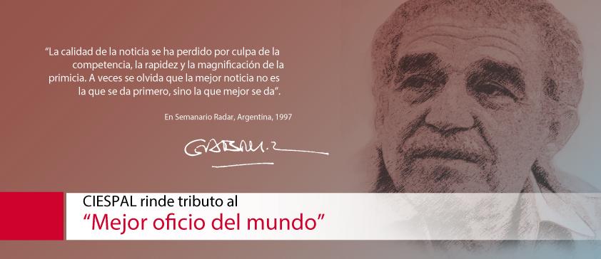 """CIESPAL rinde tributo al """"Mejor oficio del mundo"""""""