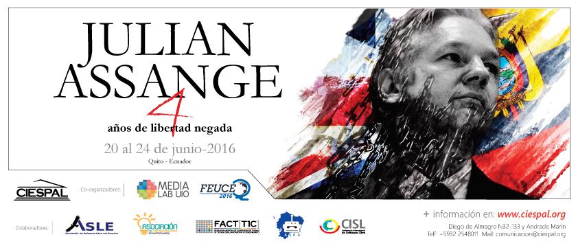 Julian ASSANGE, cuatro años de libertad negada