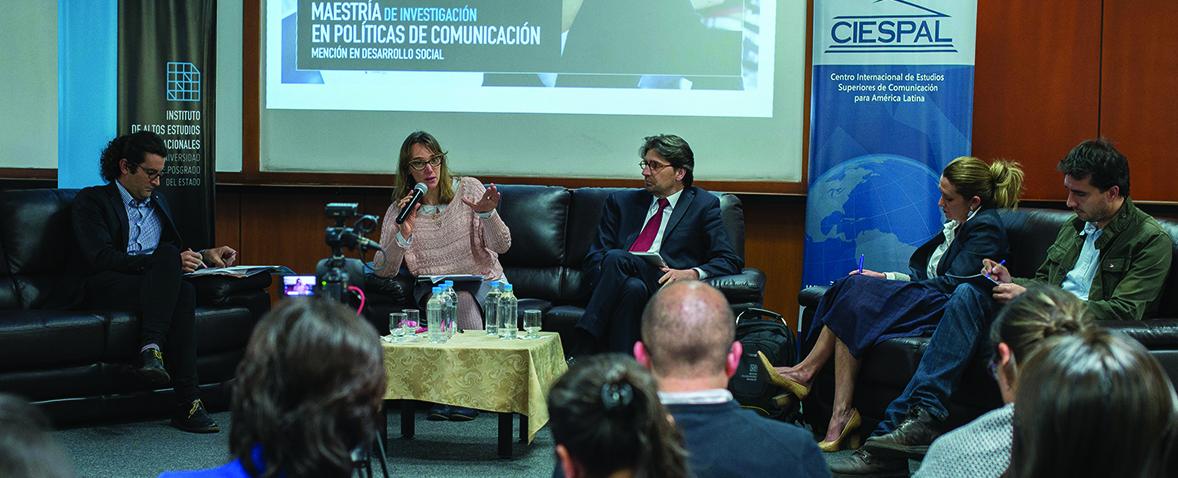 """CIESPAL e IAEN presentaron los detalles de la nueva maestría de investigación en """"Políticas de Comunicación con mención en Desarrollo Social"""""""
