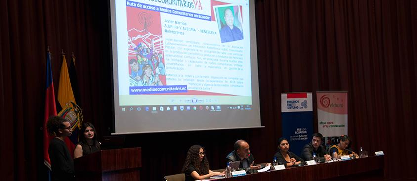 En CIESPAL se presentó el folleto #MediosComunitariosYA
