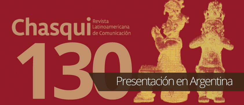 Revista Chasqui No. 130 se presenta en Argentina