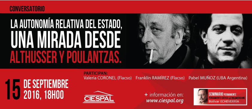 """Seminario Permanente """"Bolívar ECHEVERRÍA"""" realiza un nuevo conversatorio"""