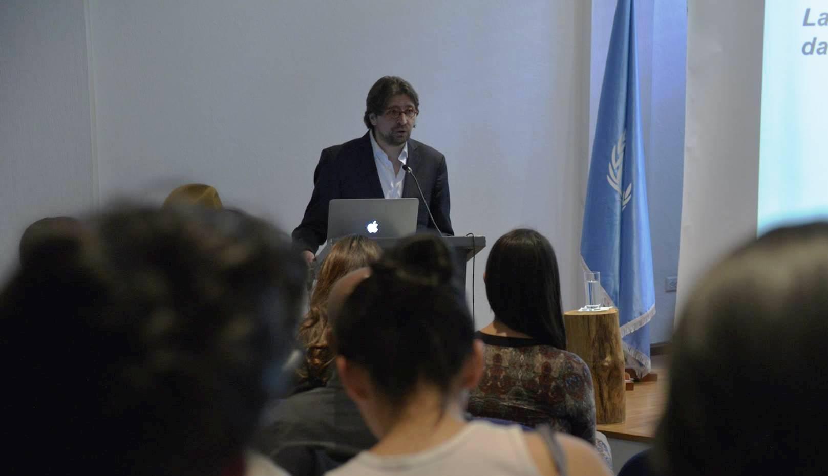 Francisco SIERRA CABALLERO: Sin información, sin conocimiento no es posible desarrollar el territorio