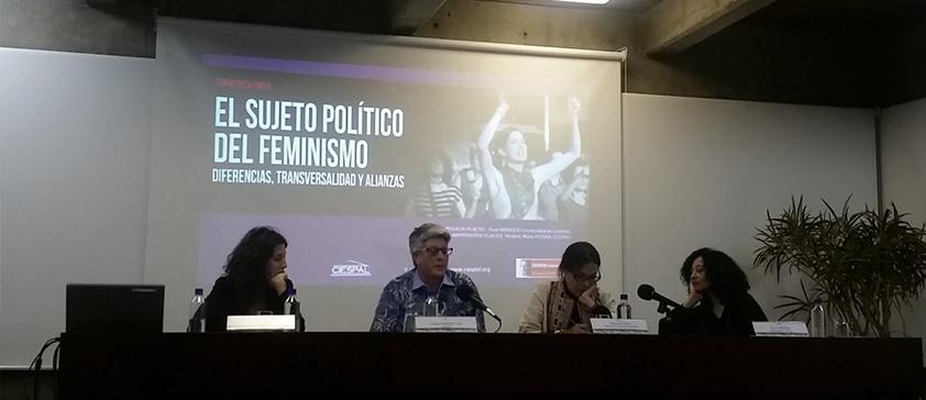 En el marco del Seminario Bolívar ECHEVERRÍA se analizó el sujeto político del feminismo