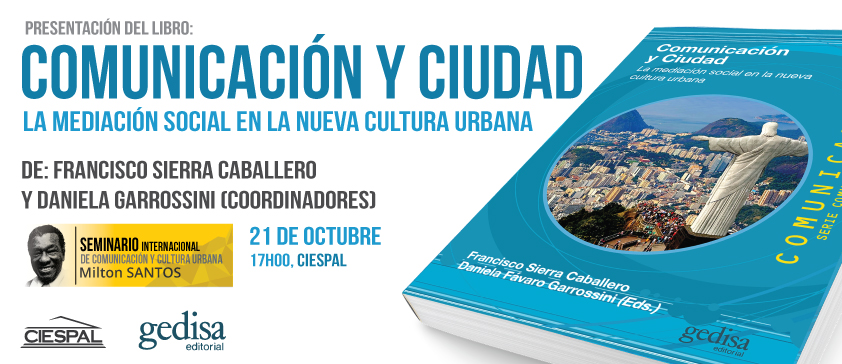 """Presentación del libro """"Comunicación y ciudad"""""""