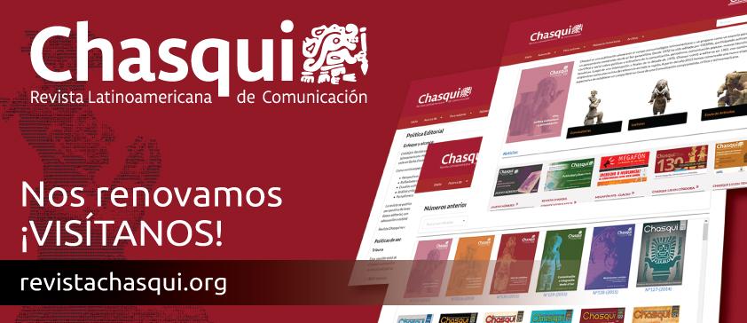 Nueva página web de Revista Chasqui