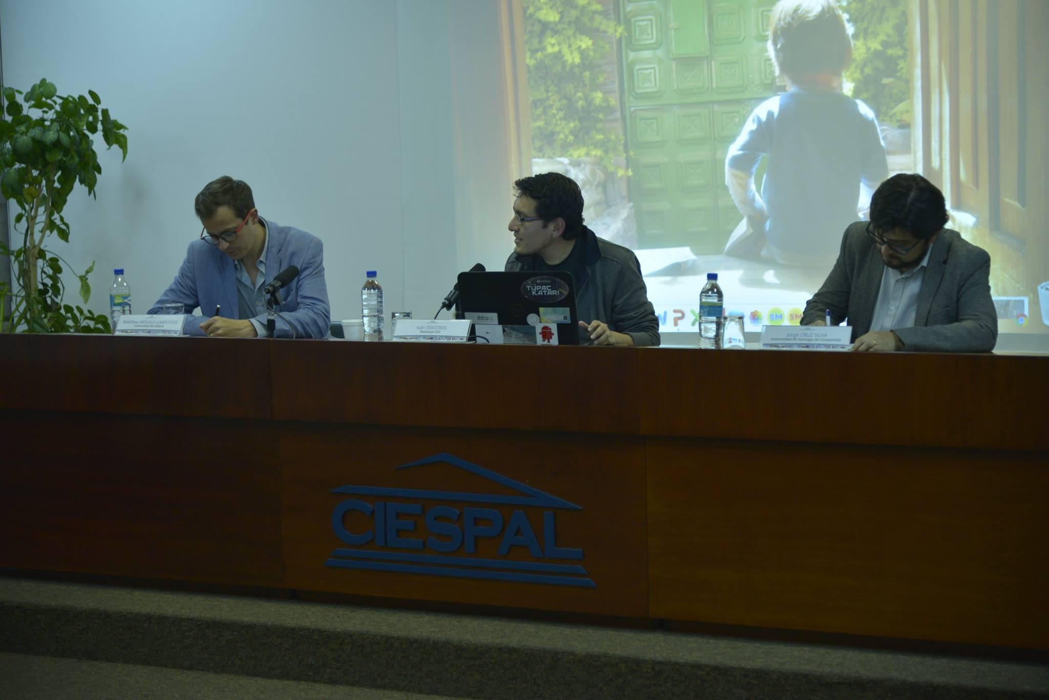 """Jorge CRUZ: """"el periodismo dron no es realmente una variante del periodismo"""""""