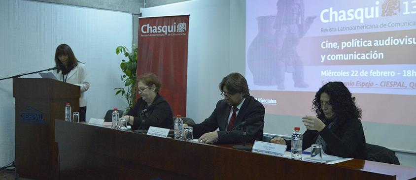 Cine, política audiovisual y comunicación es el tema central de Revista Chasqui 132