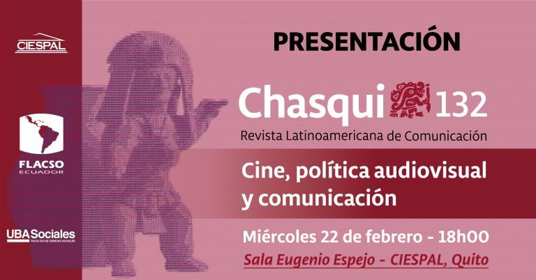Presentación Chasqui N°132