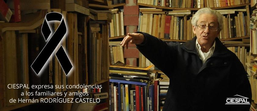 CIESPAL expresa sus condolencias a los familiares y amigos de RODRÍGUEZ CASTELO