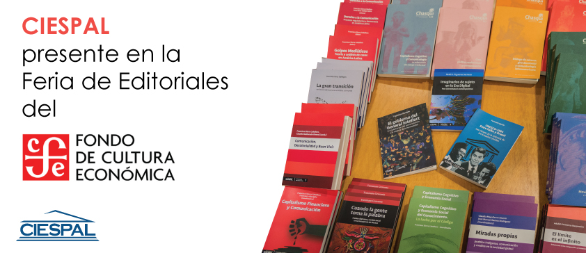 Ediciones CIESPAL participa en la Feria de Editoriales