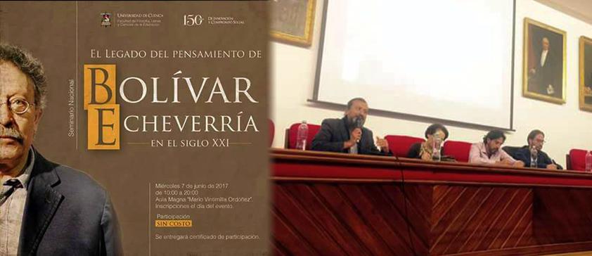 Director del Seminario Bolívar ECHEVERRÍA de CIESPAL destaca el legado del filósofo latinoamericano en Cuenca
