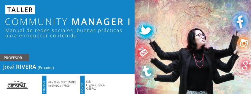 Taller de Community manager para organizaciones, nivel 1