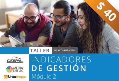 Taller de Indicadores de gestión  para proyectos, módulo 2