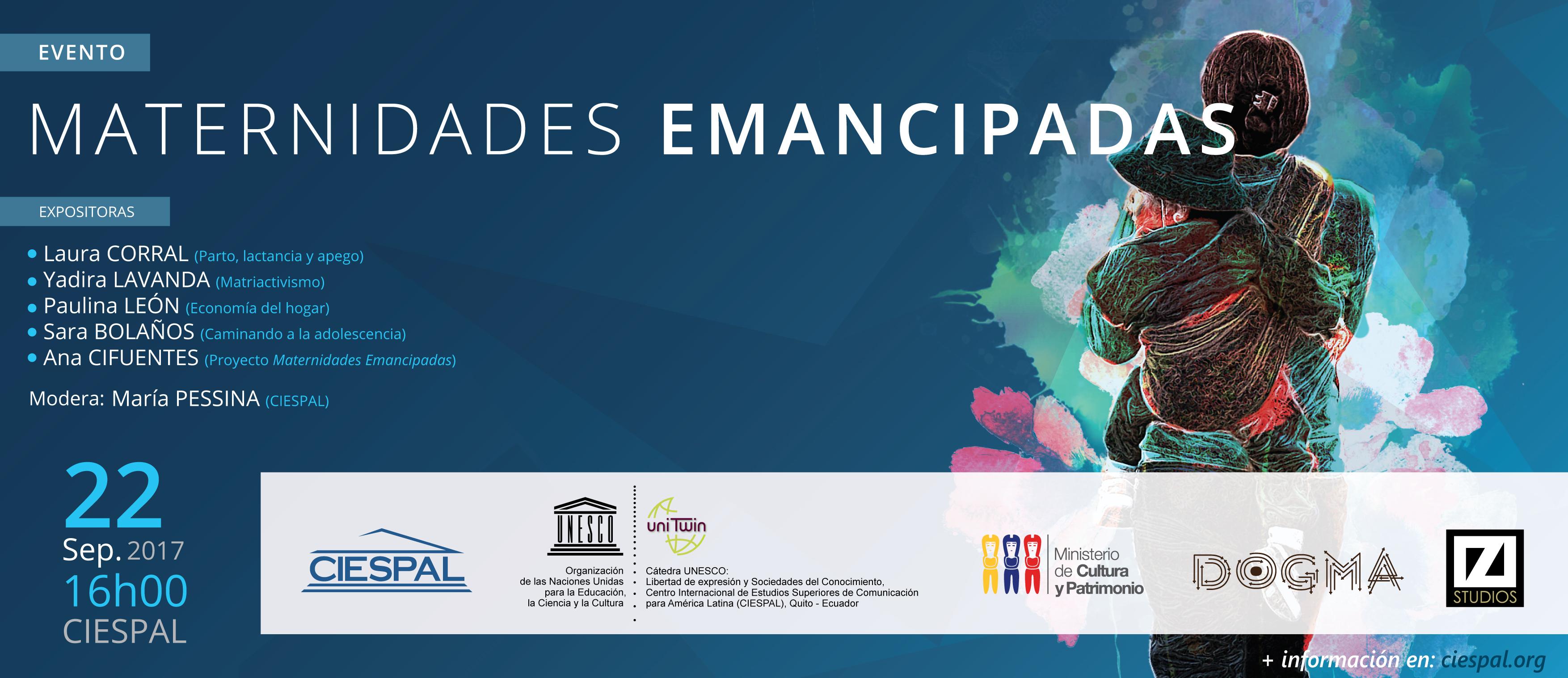 Cátedra UNESCO presenta: MATERNIDADES EMANCIPADAS