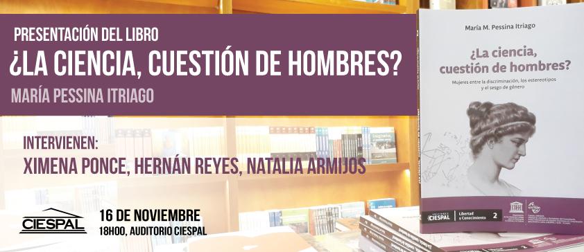 ¿La Ciencia, cuestión de hombres?  Nuevo libro de Ediciones CIESPAL