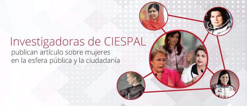 Investigadoras de CIESPAL publican artículo sobre mujeres en la esfera pública y la ciudadanía