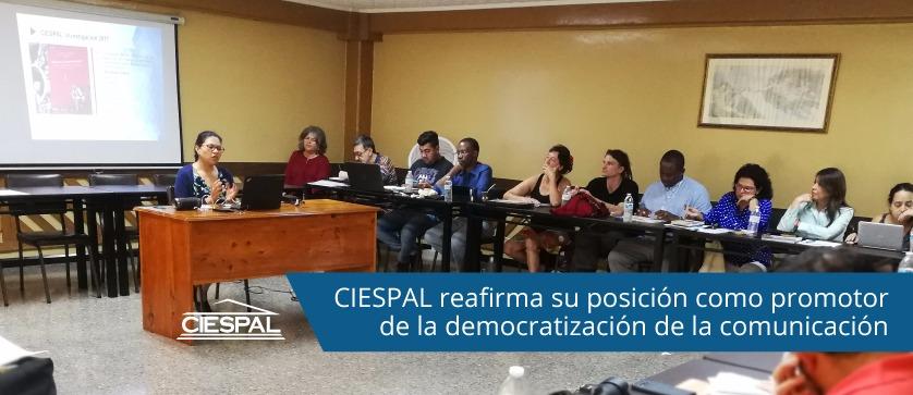 CIESPAL reafirma su posición como promotor de la democratización de la comunicación en la Consulta Regional sobre Derechos a la Comunicación convocada por la WACC