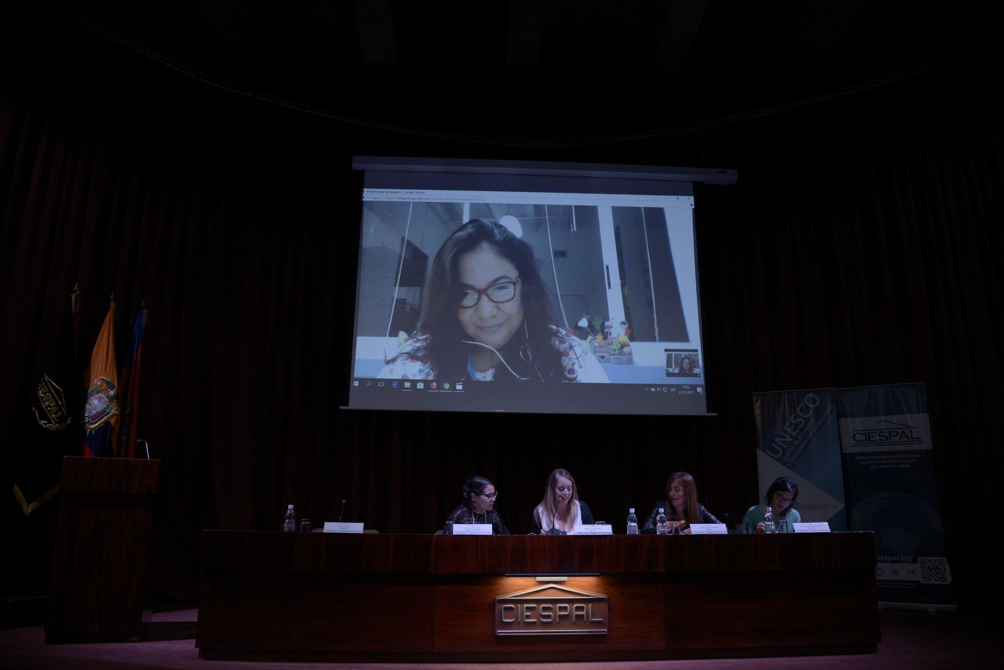 CIESPAL se unió a #NiUnaMenos con conversatorio de investigadoras contra la violencia machista