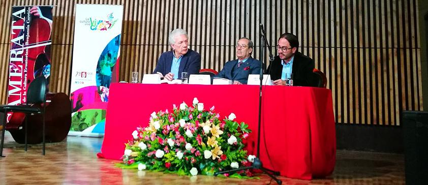 Secretario General de CIESPAL participó en la presentación del libro de Darío VILLAMIZAR