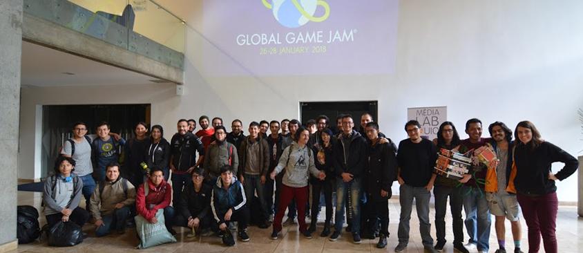 Jóvenes crearon videojuegos en el Global Game Jam organizado en Quito por Medialab