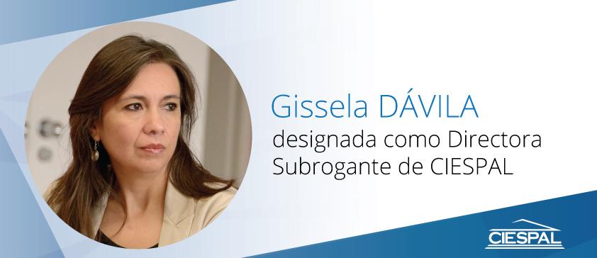 Gissela DÁVILA fue designada como Directora Subrogante de CIESPAL