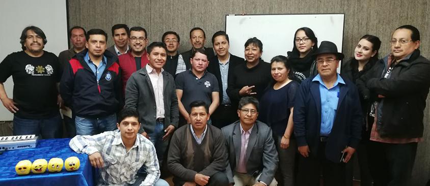 Representantes de medios comunitarios asisten a capacitación en CIESPAL