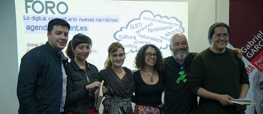 Profesionales de medios alternativos debatieron sobre las nuevas narrativas y agendas urgentes en la comunicación digital