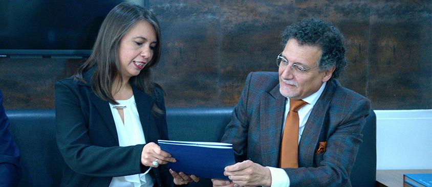 Directora de CIESPAL solicitó al Contralor General de la Nación un examen de la gestión 2014 – 2017