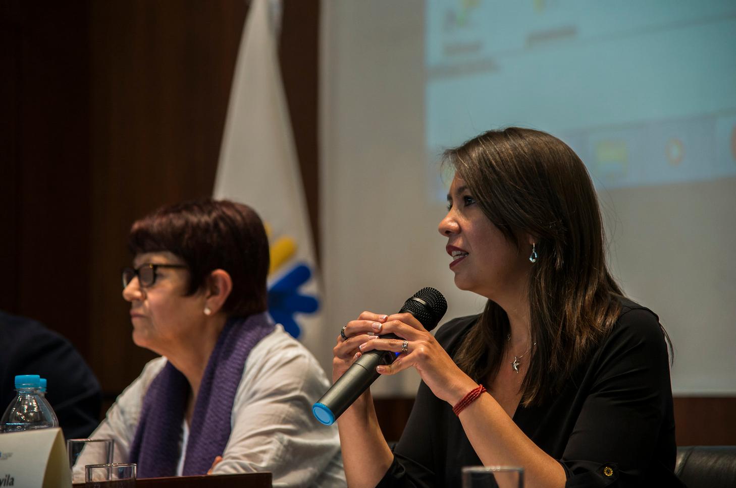 Directora General de CIESPAL  participó en jornada sobre derechos humanos de las mujeres en el Ecuador
