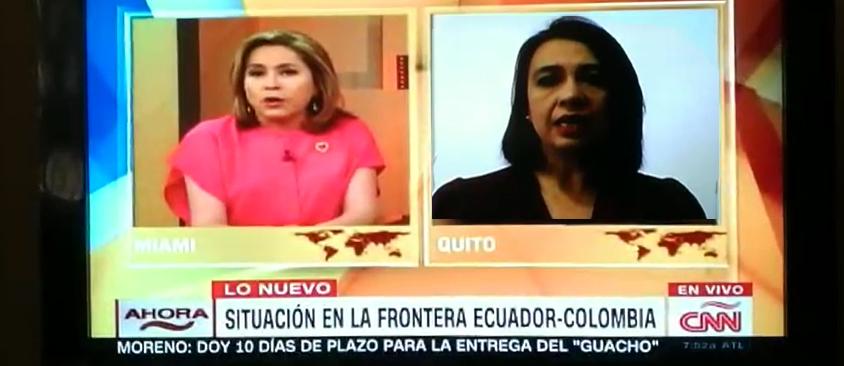 En CNN en Español, Directora de CIESPAL resaltó la importancia de la difusión de información verificada en los medios en situaciones de riesgo