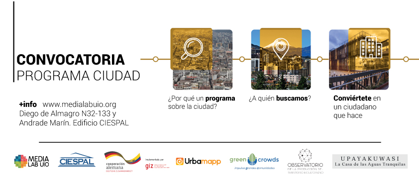 Catorce  proyectos para mejorar la situación de la ciudad recibirán asesoramiento y capacitación en MedialabUIO de Ciespal