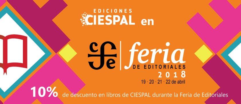 10% de descuento en libros de CIESPAL durante la Feria de Editoriales