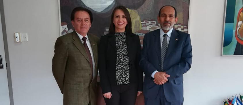 Visita protocolar de la Embajada de la República Árabe Saharaui Democrática (RASD) a CIESPAL afianza los lazos de cooperación