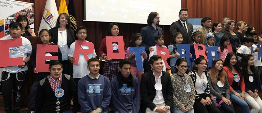 CIESPAL fue sede del Encuentro Nacional para la erradicación del trabajo infantil en el Ecuador